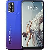 Blackview A70 (E) Smartphone ohne Vertrag Android 11, 6.517 Zoll HD mit 5.380mAh Batterie, 3GB RAM+32GB Speicher Octa…