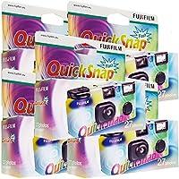5 x quick snap Fujifilm cámara desechable con Flash, 27 fotos, con Flash