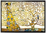 1art1 96660 Gustav Klimt - Die Erwartung, 1905-1909 (Detail) Fußmatte Türmatte 60 x 40 cm