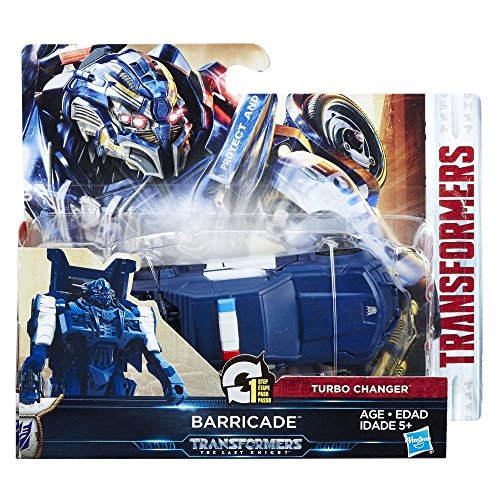 C1313ES0 - Movie 5 Turbo Changer Barricade, Actionfigur ()