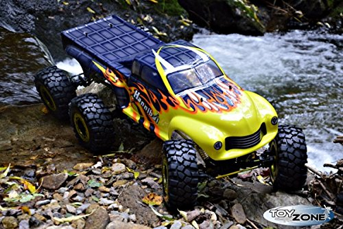 RC Auto kaufen Monstertruck Bild 5: RC Monstertruck Crawler 6 x 6 Climber Rock Fighter Hannibal XXL 104 cm 1:5 HSP 2,4 GHz RTR*