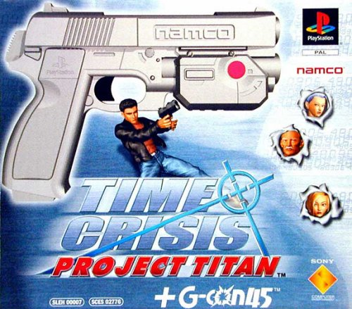 PS1 - Time Crisis Titan + G-Con Box