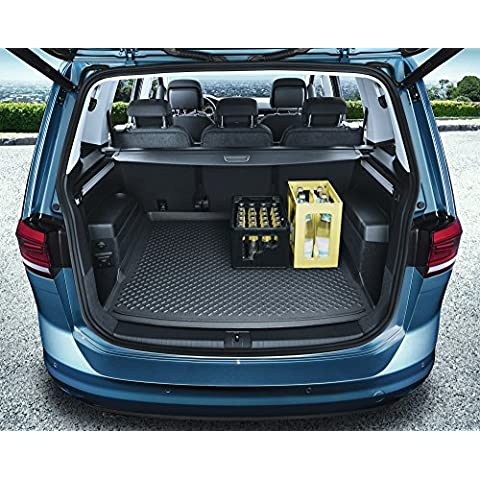 Alfombra maletero VW Touran II (MQB) Trazador de líneas del tronco Anexo Transporte - 5 asientos