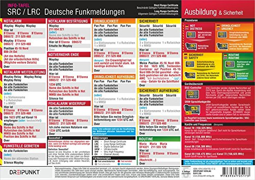 SRC / LRC: Deutsche Funkmeldungen: Deutsche Funkmeldungen im UKW-Seefunk