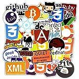 iDream Programming Language Software Geek Stickers for Laptops (Set of 50)