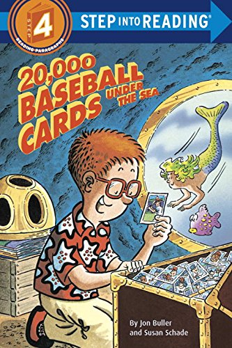 20,000 Baseball Cards Under The Sea Step Into Reading 4