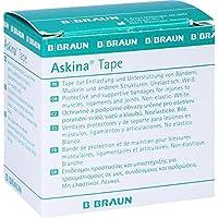 ASKINA Tape Pfl.unelast.3,8 cmx10 m weiß 1 St Verband preisvergleich bei billige-tabletten.eu
