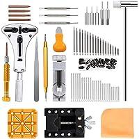 Viccess Orologi Strumenti e kit 210pcs Kit Riparazione Orologi Tool Kit Professionale di Riparazione Orologi Strumenti…