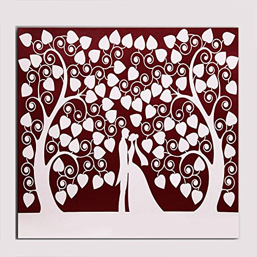 zeit Fingerabdruck Check-in DIY Fingerabdruck-Zeichen an den Baum Unterschrift Baum (Hochzeit Zeichen Diy)