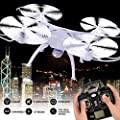 Syma Upgraded Version X5SC-1 Explorers RC Quadcopter 4CH 6-Axis 2.4G Gyro Drone With 2MP HD Camera White