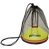 gipfelsport Fussball Hütchen - Markierungshütchen Set für Fußball Training