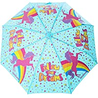 GirlZone: Umbrella for Kids Colour Changing Unicorn Kids Umbrella