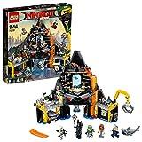 LEGO Ninjago Movie 70631 - Garmadons Vulkanversteck, Bauspielzeug - LEGO