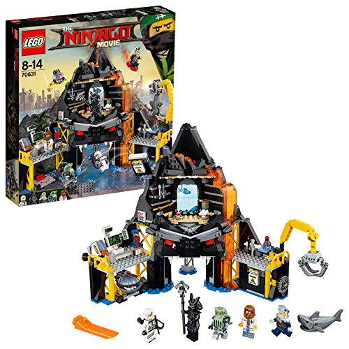 LEGO Ninjago Movie 70631 - Garmadons Vulkanversteck, Bauspielzeug
