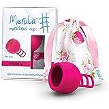 Merula Cup strawberry (pink) - One size Menstruationstasse aus medizinischem Silikon