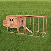 Pisces Barcelona Deluxe 8ft EXTRA LARGE Chicken Coop with Run