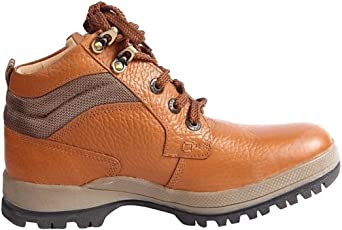 Red Chief Men's Elephant Tan Hiking Boots (RC 2501)