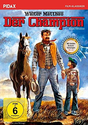Der Champion (Casey´s Shadow) / Klassiker mit Walter Matthau und beiden Schnittfassungen (Pidax Film-Klassiker)