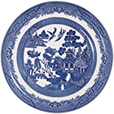 BLUE WILLOW sets of 6 dinnerplates 26cm CHURCHILL CHINA, Made in England by Churchill China