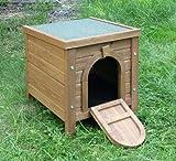 Kleintierhaus Outdoor aufklappbares Bitumendach Ergänzung zu Freilaufgehegen