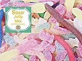 Retro Candy Fruchtgummi Mischung XXL 1000g sauer Premium Qualität in der Frischebox
