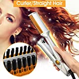 Best Hair Straightener And Curlers - Y.F.M Hair Straightener & Curler, Multi-functional Dual-Use Hair Review
