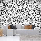 murando – Papier peint intissé 100x70 cm – Papier peint – Tableaux muraux – Déco – XXL – Mandala Orient Abstrait Abstraction 3D f-A-0581-a-b