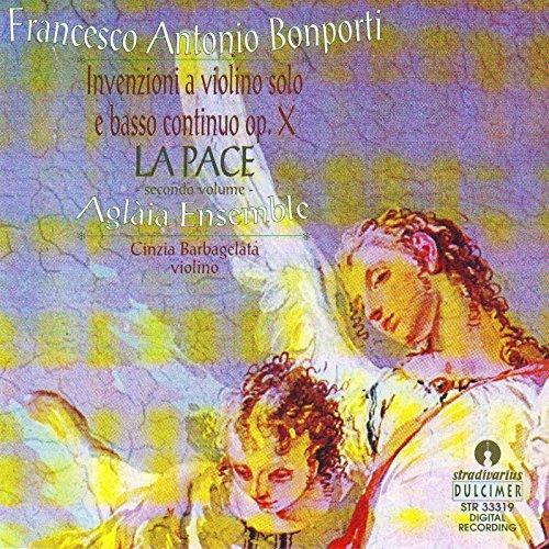 Bonporti: Inventions for Violin, Op. 10, Vol. 2