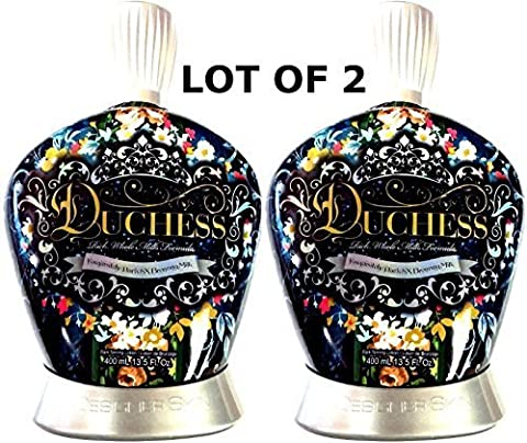 LOT of 2 Designer Skin Duchess 8x Bronzer Indoor Tanning Bed Lotion by Millennium Tanning Products
