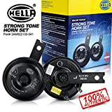 #9: Hella Full Tone Car Horns 12V High & Low For Bikes & Cars