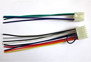 Yihao for Toyota Scion Lexus 1986-Up Reverse Radio Wire Harness OEM Stereo Install 71-1761