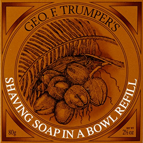 Geo F Trumper Coconut Oil Shaving Soap Refill