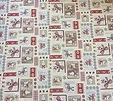 Provencestoffe Gobelin Tischdecke, Mitteldecke, ca. 140x140 cm Weihnachtsdecke
