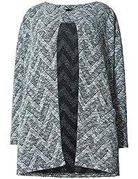 bfcde4bb7a7 ... Clothing : Women : Knitwear. Ladies Marks & Spencer Chevron Print Long  Sleeve Cardigan Coatigan M&S RRP ...