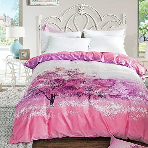 Baumwolle Decke ein Stück Baumwoll Cap Denim quilts Twin-Bettbezug-R 200x230cm(79x91inch) (Twin-denim-bettwäsche)