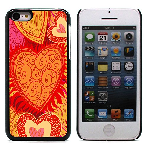 Graphic4You I Will love you Design Harte Hülle Case Tasche Schutzhülle für Apple iPhone 5C Design #13