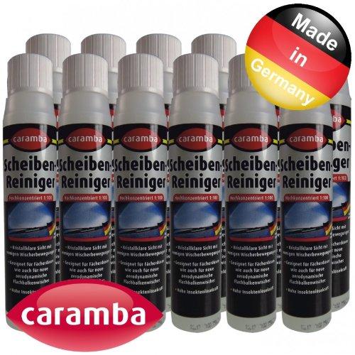 Caramba Scheibenreiniger Konzentrat 1:100 12x40ml Scheiben Reiniger Konzentrat