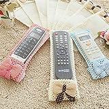 #10: Rian'S Online Air Condition Tv Remote Control Case Textile Protective Bag For Tv D2H, Dth- 3 Size (Random Color)