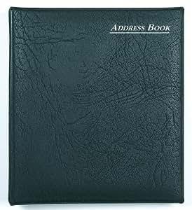 Collins Ringbound Telephone & Address Book - Black