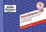 Avery Zweckform 1709 Kassa-Ausgang speziell für Österreich (A6 quer, 3x40 Blatt) weiß/gelb/rosa