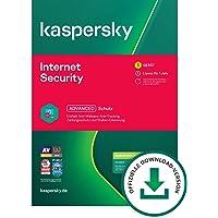 Kaspersky Internet Security 2021 Standard | 1 Gerät | 1 Jahr | Windows/Mac/Android | Aktivierungscode per Email