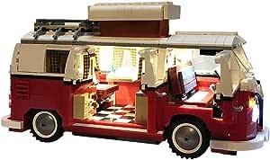 15000p Licht Set Für Lego Creator Volkswagen T1 Campingbus 10220 Usb Stecker Passen Zum Lego 10220 Spielzeug