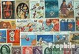 Prophila Collection Australien 100 verschiedene Marken (Briefmarken für Sammler)