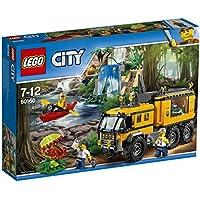 LEGO - 60160 - City - Jeu de Construction - Le laboratoire mobile de la jungle