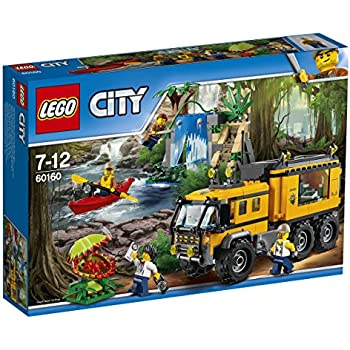 Lego City 60160 - Jungle Explorers Laboratorio Mobile Nella Giungla