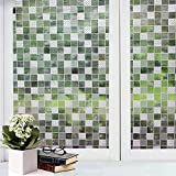 Bfeplfashion Decorative Privacy Frosted Window Glass Film Sticker Home Bathroom Waterproof - 10#