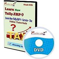 Practice Guru New Tally.ERP 9 Service Tax Video Tutorial(CD) [CD-ROM]