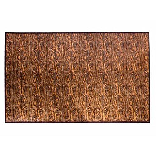 Alfombra Bambú Natural de Diseño Textura Madera Antideslizante