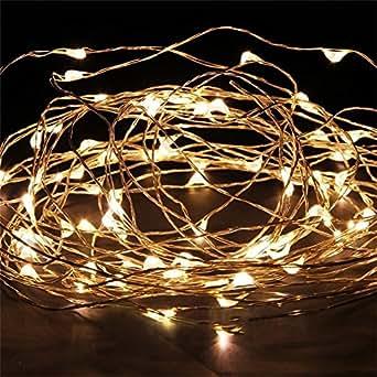 jinto guirlandes lumineuse tanche cuivre fil 3m 30 leds. Black Bedroom Furniture Sets. Home Design Ideas
