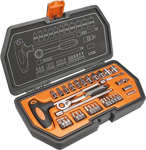 Preisvergleich Produktbild Neo Steckschlüssel 1/4 Zoll, 34 Stück, 08-601